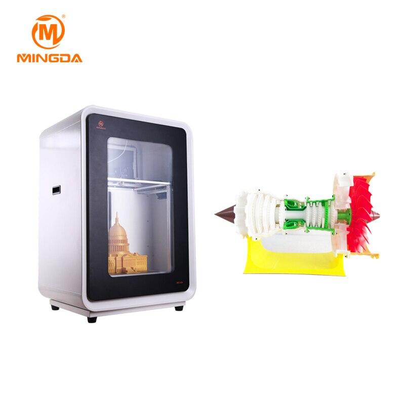 2018 China consumidor 3D impresoras plástico PLA ABS Materails 3D máquina impresora 3d impresión prototipos