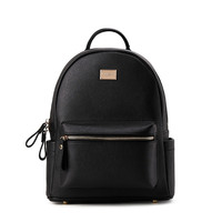 Luxury Backpack Genuine Leather Mini Backpacks Designer Women High Quality School Bags for Teenage Girls Black mochilas mujer