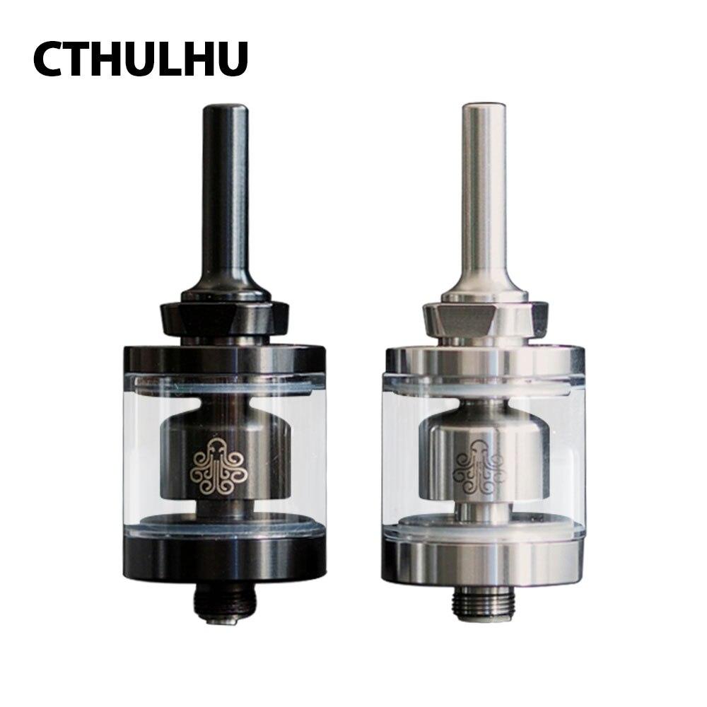 Nuovo Originale 2 ml Cthulhu Hastur MTL RTA Mini Serbatoio 22mm Diametro con 3 Fori per L'aria e Più Piccola Camera di Fondo di Controllo del Flusso D'aria del Serbatoio