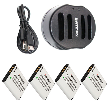 4パックli-50b li50b 50bバッテリー& usbデュアル充電器オリンパスsp 810 800UZ u6010 u6020 u9010 sz14 sz16 D755 u1010 sz30 sz20 xz-1