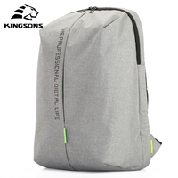 Kingsons KS3123W Laptop Backpack 15 6 Inch High Quality Waterproof Nylon Bags Business Dayback Men And