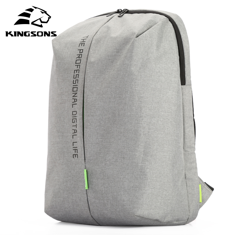 Kingsons KS3123W  Laptop Backpack 15.6 Inch High Quality Waterproof Nylon Bags Business Dayback Men and Women's Knapsack 1pz 3 inch high quality wearable long working life fixed nylon medium duty caster and weel