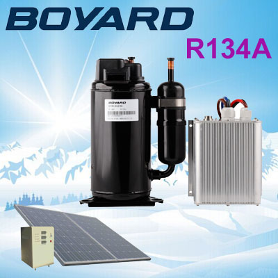 цена R134A BOYARD 48V brushless dc compressor SVB208Z48 for telecom solar power air conditioner онлайн в 2017 году
