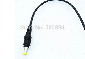 Image 2 - 50 sztuk/partia 18AWG zasilania prądem stałym 5.5x2.1mm męski Adapter łącze typu jack kabel przewód 30 cm
