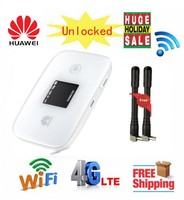 Unlocked Huawei E5786s 63a Add antenna 4G LTE MiFi router Cat6 Mobile WIFI Router 300Mbps