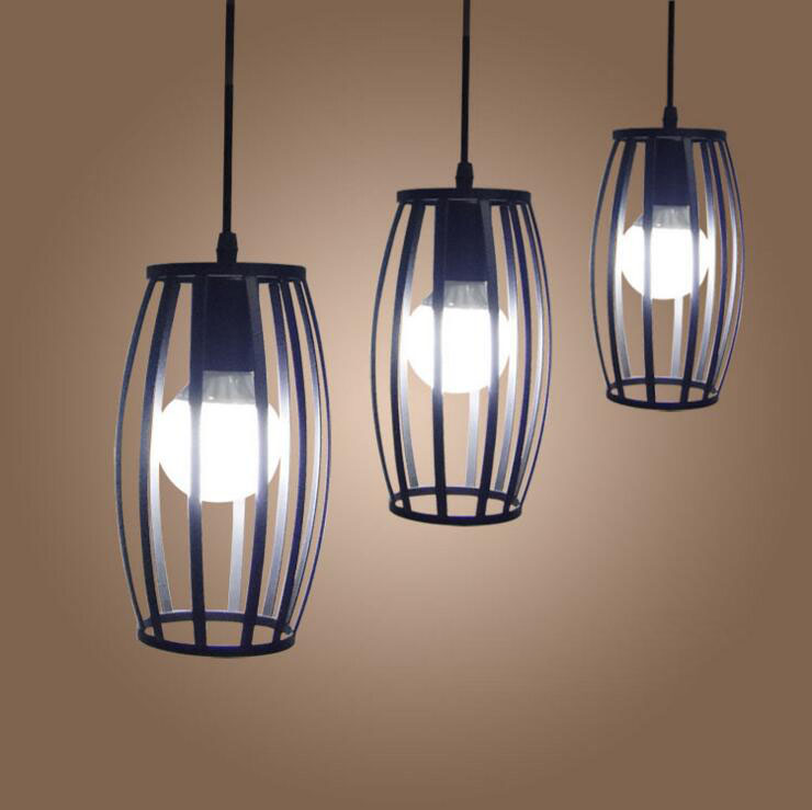 American style loft creative personality chandelier retro bar bar restaurant lamp iron study industrial wind cylinder chandelier contemporary and contracted creative personality retro art glass chandelier cafe restaurant study lamps act the role of milan
