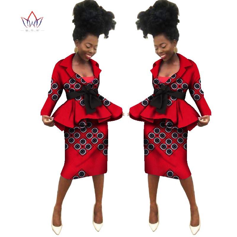 Sommar Nya afrikanska kjol passar Dashiki kvinnor elegant dam - Nationella kläder - Foto 3