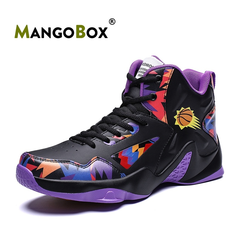 Basket-ball classique garçon chaussures haut de gamme hommes chaussures de Sport de marque basket-ball mâle portable en plein air hommes chaussures baskets