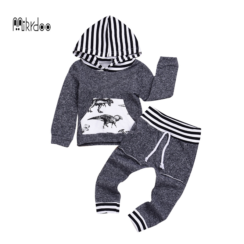 Newborn Baby Boy Girls Print Tops Romper Clothes Sets casual Clothing Wear Romper+Long Pants baby boy winter clothing set 2017 newborn baby boy girls clothing 3pcs sets infant toddle girls romper pants hat snuggle on this muggle baby outfit set