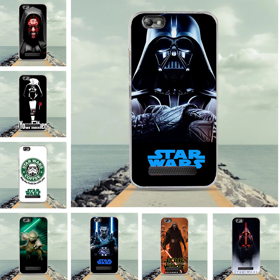 Soft TPU Silicone For Lenovo Vibe C A2020 A2020a40 DS A 2020 Case Starwars Pattern Cover For Lenovo Vibe C A2020 a40 DS A 2020