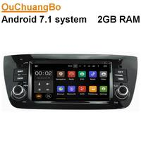 Ouchuangbo Android 7 1 Car Multimedia Player Fit For Fiat Doblo With Gps Navigation Wifi Bluetooth