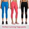 Womens legging yoga pants woman compression tights Sports leggings running 3/4 pants Jogging Trousers mallas mujer deportivas