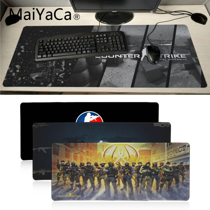Laptop Laser Mouse Gaming Mouse Mat PC CS:Go Counter strike Go Gift Idea