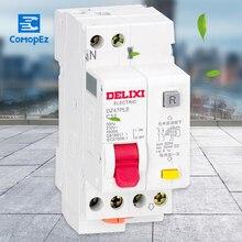 Miniature Circuit breaker Air switch DZ47PLE-1P+N  DELIXI MCB 1Pole +N