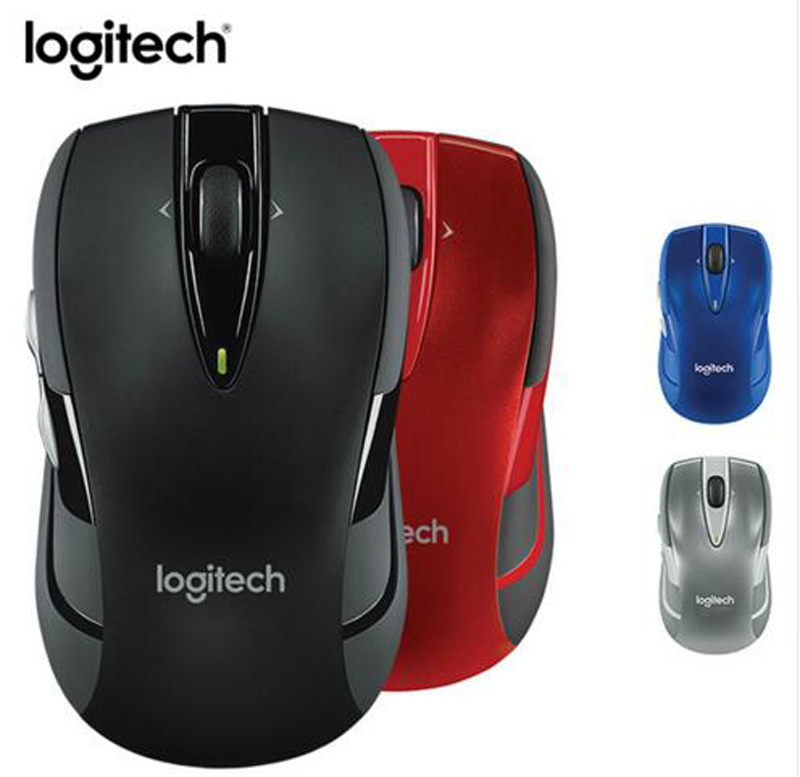 Logitech M545 2.4G Wireless Mouse 1000DPI USB Optical Computer PC Gaming Mouse without retail box genuine rapoo 1090 2 4ghz wireless 1000dpi usb optical mouse w receiver black 1 x aa