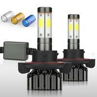 Zdatt 4 Sides 12000Lm Led Canbus H13 9008 LED Bulb 100W Headlight 3000K 6000K 8000K Car Lights 12V 24V COB