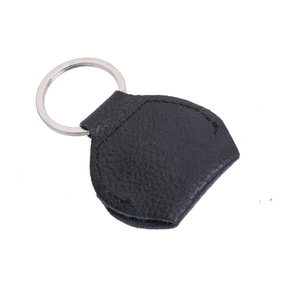 Image 3 - 100 pcs Top Quality Guitar Pick Holder Genuine Leather Guitarra Plectrum Case Bag Keychain Shape Guitar Accessories