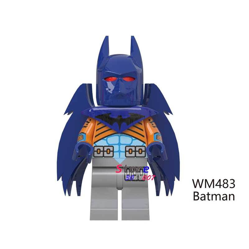 1PCS model bouwstenen actiefiguren starwars superheroe classic Batman Serie party Movie diy speelgoed voor kinderen gift