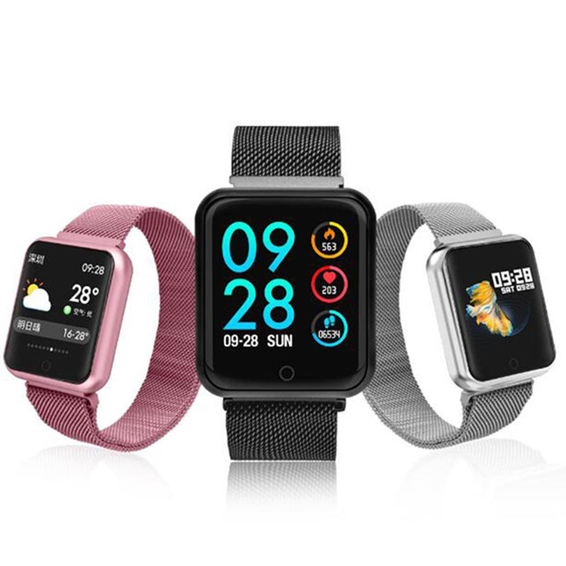 Sport IP68 <font><b>Smart</b></font> Uhr P68 fitness armband aktivität tracker heart rate monitor blutdruck für ios Android apple <font><b>iPhone</b></font> <font><b>6</b></font> 7 image