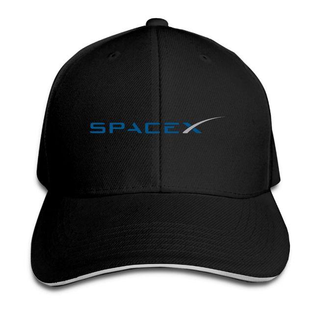 Couple Baseball Cap SpaceX Print Mens Womens Baseball Caps Space X  Adjustable Snapback Caps Hats Man Femal Hat 33299d3a7fc