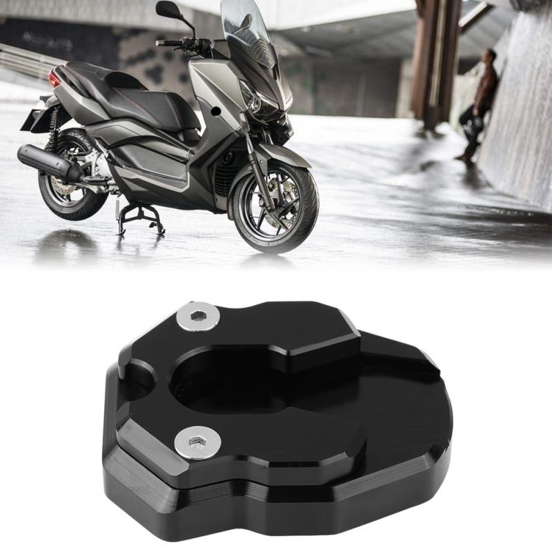 Motorcycle Anti-skid Side Stand Enlarger Extension Pad Plate for Yamaha Nmax155 XMAX 300