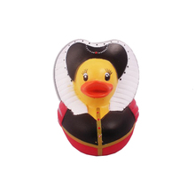 Children's Beach Water Toy Baby Temperature Duck Toys Style Baby Bath Duckqueen Floating Rubber Ducks Bathroom Swimming Toys