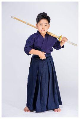 Authentic Kendo Uniform Hakama for Kendo Practice 100/% Cotton