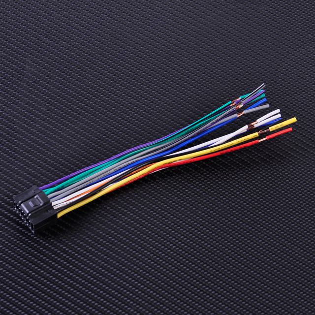 CITALL Car Radio Stereo ISO Standard Wiring Harness CD Player Plug
