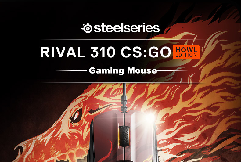 Steelseries Rival310 Game Mice Original roared HOWL CSGO Gaming Computer Mouse 35
