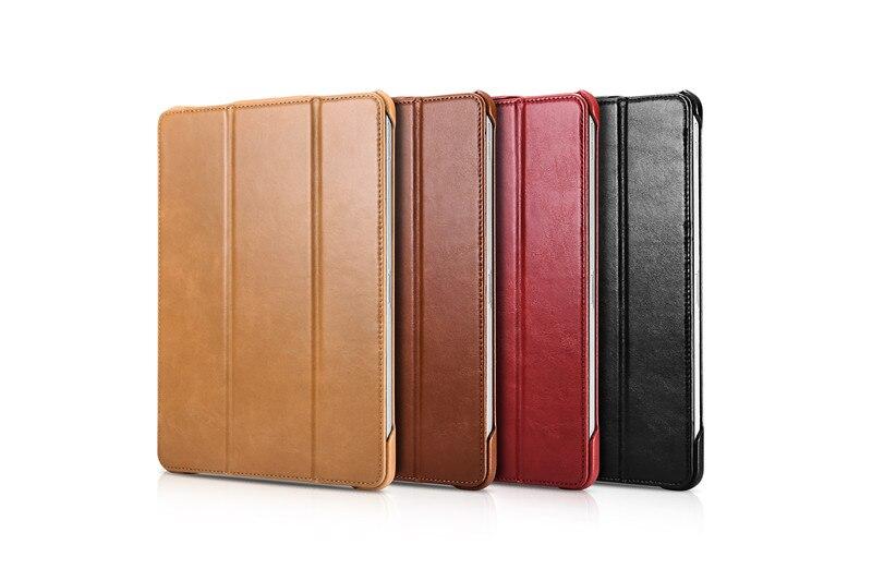 iCarer for iPad Pro 11 inch iPad Air 10 5 Mini5 Mini 5 Genuine Leather Case