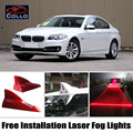 Free Installation For BMW 5 M5 E39 E60 E61 F10 F11 /  Shark Fin Laser Fog Lights / Disturbed Flow / Multiple Mode Warning Lamp