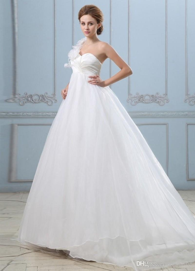 Pretty Elegant Maternity Wedding Dresses Pictures Inspiration ...