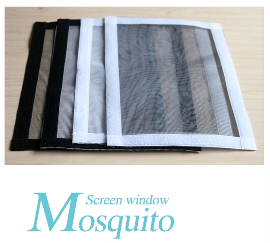 800x800mm FREE SHIPPING DIY Screen Window Magic Stick Gauze Shade Anti-Mosquito Insect-Resistant Adhesive Type