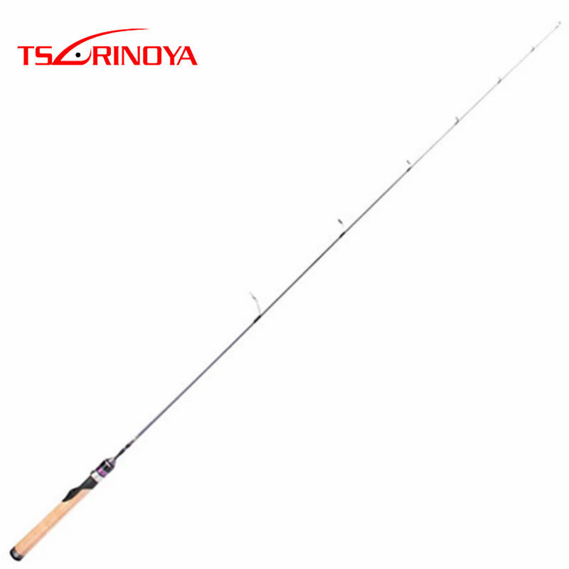 TSURINOYA 1.4m UL Power Solid Tip Spinning Fishing Rod TORAY-24T Carbon FUJI Ring Soft Cork Handle Pole Olta Pesca Stick