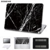 5 In 1 Bundle Marble Texture Cover Case For Apple Macbook Air Pro Retina 11 12