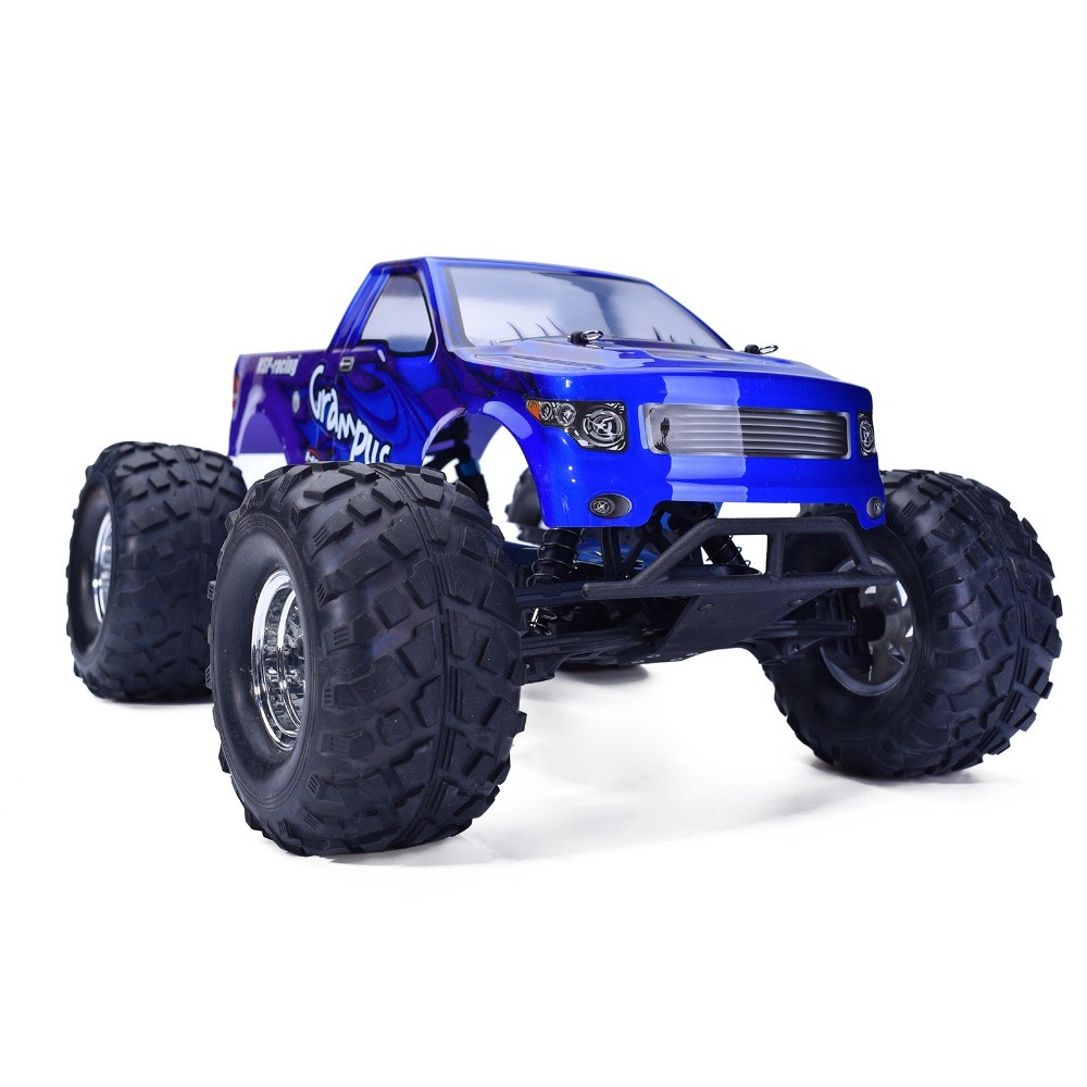 HSP Rc Car 1/10 Scale 4wd Brushless Off Road Monster Truck 94601PRO Electric Power Remote Control Car Similar HIMOTO REDCAT hsp rc car 1 10 scale off road monster truck 94111pro remote control car high speed hobby brushless motor 4wd electric car