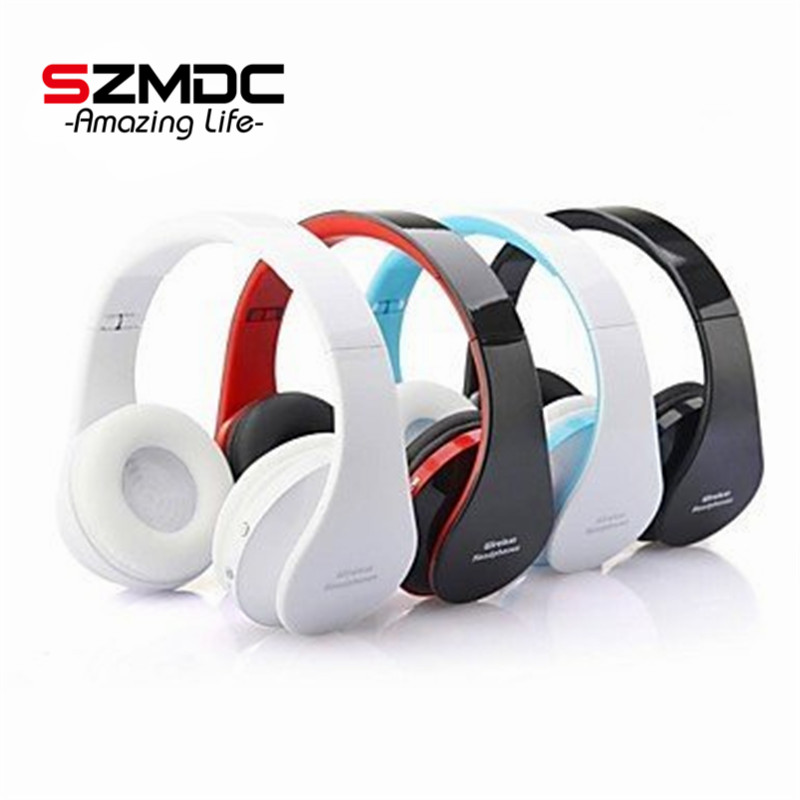 Handsfree Stereo Foldable Wireless Headphones Casque Audio Bluetooth Headset Cordless Earphone For Computer PC Head Phone