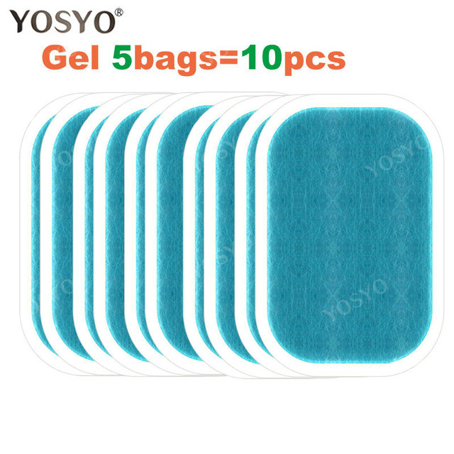 1/3/5/10Pair Replacement Gel Pads For EMS Abdominal Muscle Trainer Pad Weight Loss Abdominal Muscle Stimulator  Gel Pad 2
