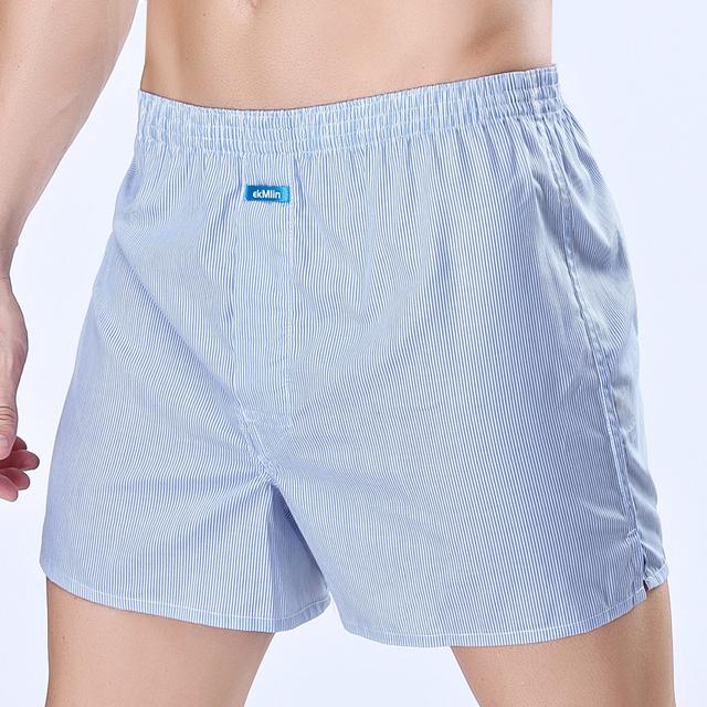 4-Pack Men's  Boxer Shorts Woven Cotton 100%