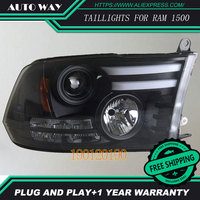 HID LED Headlights Headlamps HID Hernia Lamp Accessory Products Case For Dodge Ram 1500 2013 2016