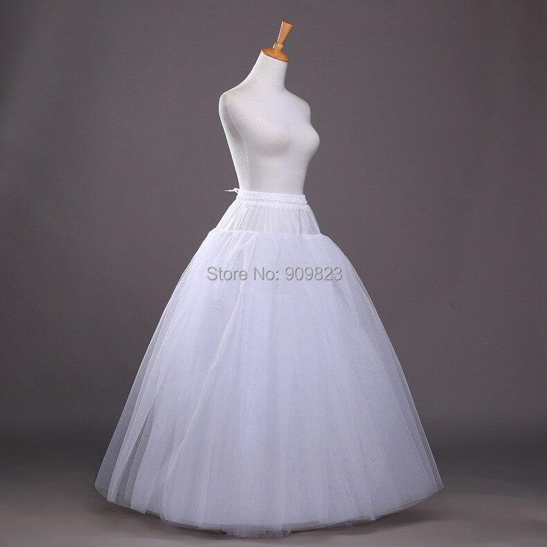 puffy crinolette falda de crinolina enaguas una línea boda de la