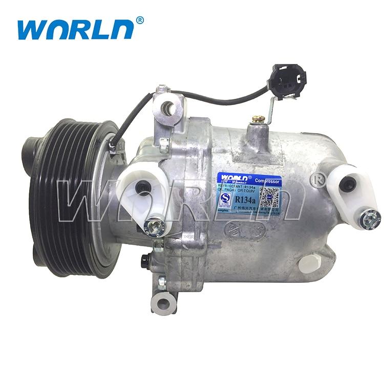 AC Compressor /& A//C Clutch For Nissan Frontier Xterra /& Suzuki Equator