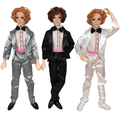 30cm 14 Moveable Jointed Doll Ken With Clothes Male Man Naked Body Boyfriend Prince Nude Doll DIY Learning Toys For Children