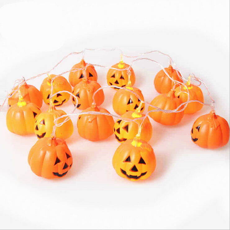 Halloween Pumpkin light string Holiday party Home Decoration Novelty creative night light 1991
