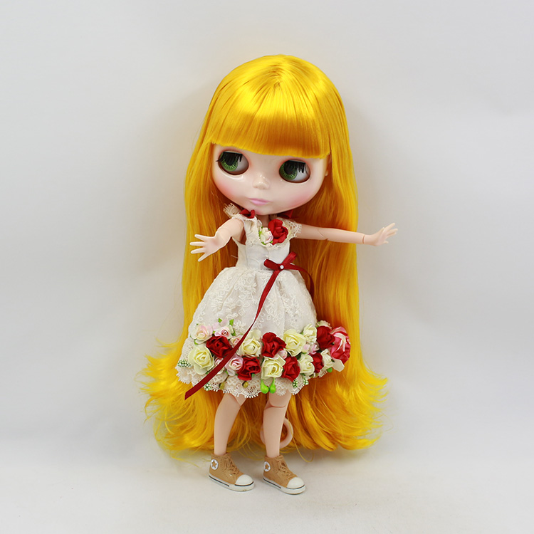 Beaukiss Blyth nude doll joint body diy blonde long hair with bangs fashion doll model DIY bjd dolls for sale pull the switch associated with a single handle length 22mm potentiometer b50k