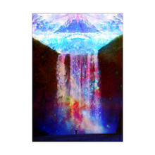 5D Diamond Embroidery Landscape Waterfall DIY Painting Mosaic Crafts Gift