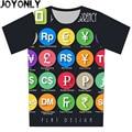 Children 3D T Shirt A108