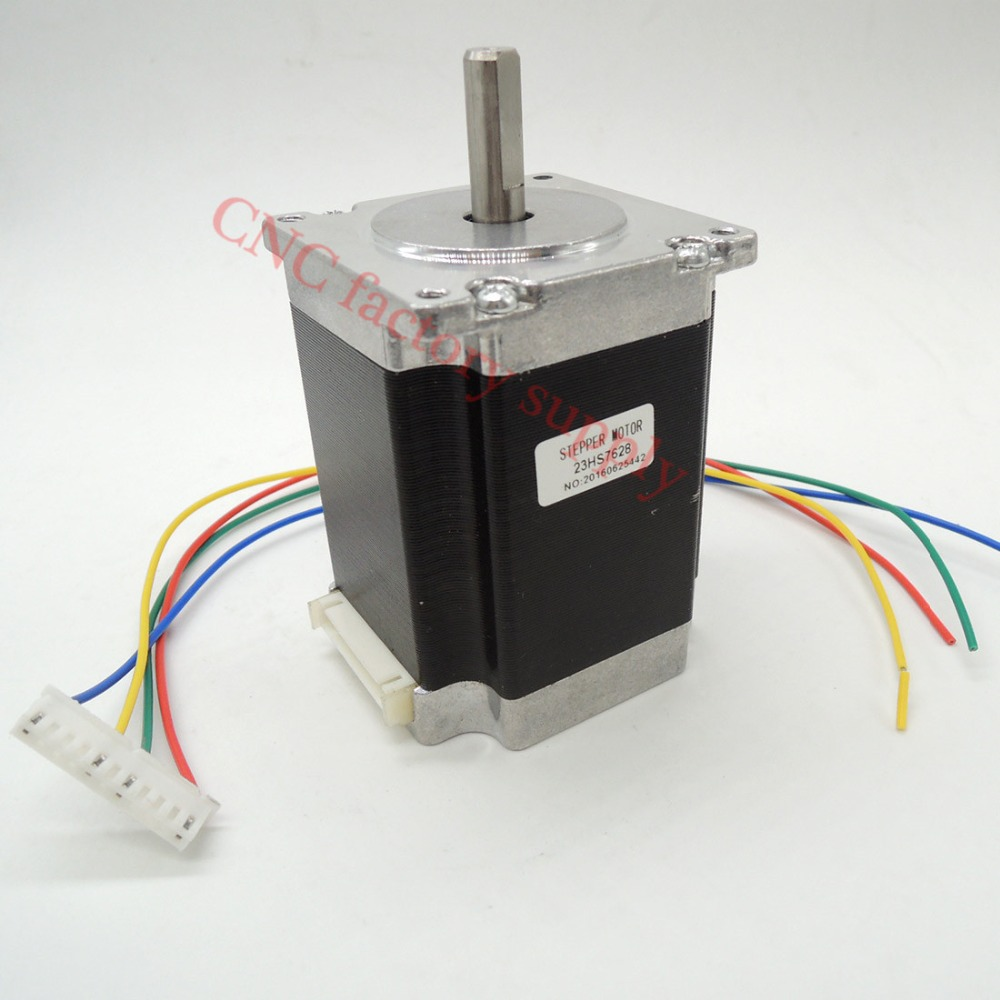 Free Shipping 1pc 4 Lead Nema 23 Stepper Motor 57 Motor