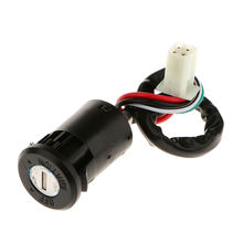 26 cm Universal Motorcycle Motorbike ATV Ignition Switch Key 4 wire 50 70 90 110 125 150 200 250CC TaoTao SUNL Moto Accessories