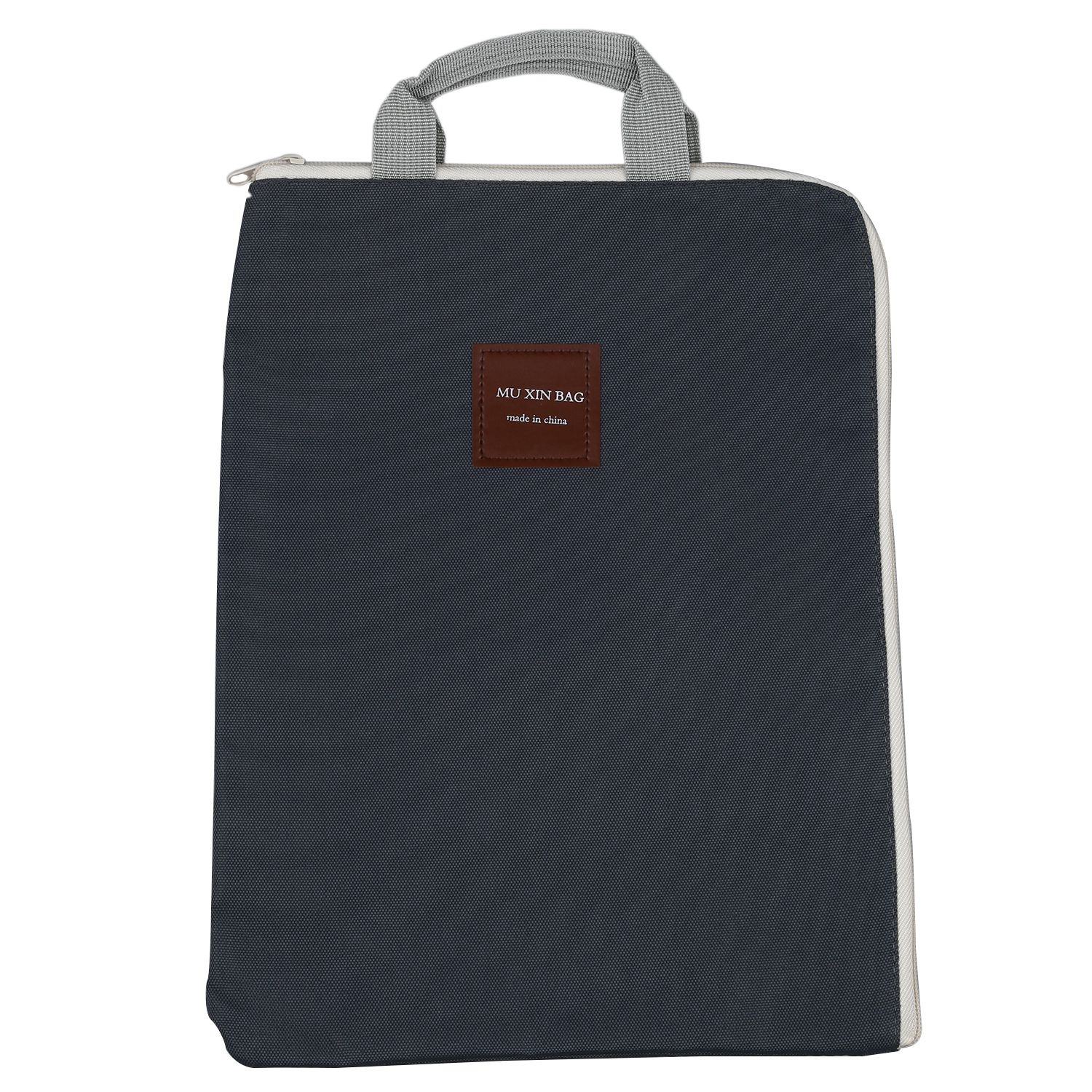 Simple Solid A4 Big Capacity Document Bag Business Briefcase Storage File Folder For Papers Stationery Student Gift